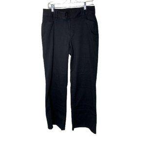 Lane Bryant Black Mid Rise Wide Leg Pants Size 14